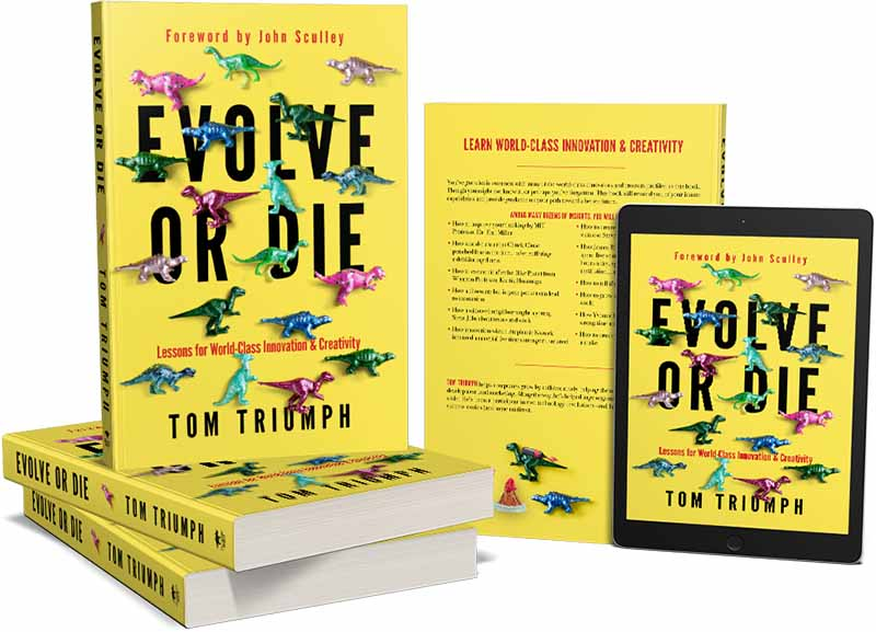 Tom Triumph Evolve or Die Book